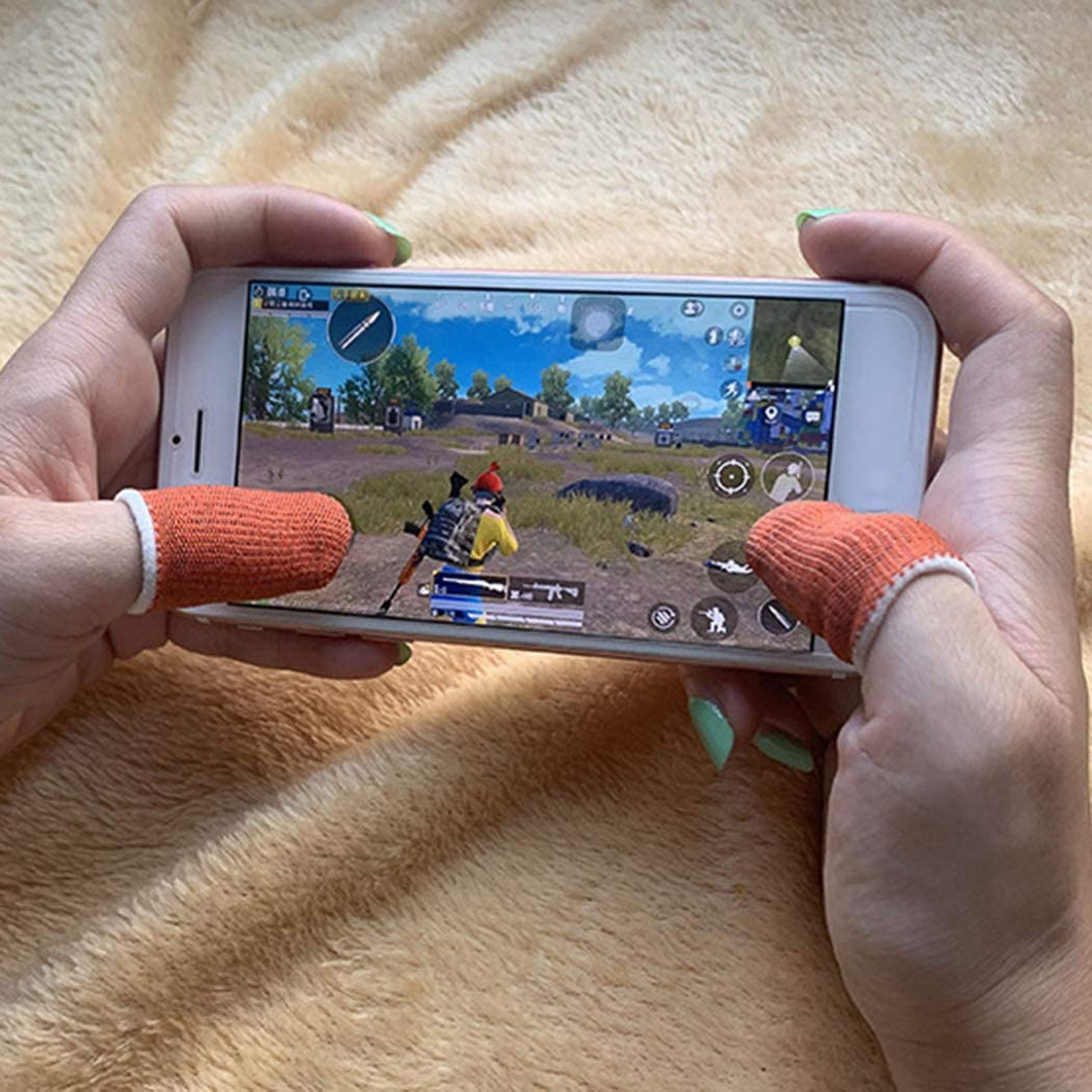 Bộ 2 bọc ngón tay cảm ứng chơi game mobile 2.0 siêu mỏng thoáng khí chống trượt ra mồ hôi và xây xước màn hình