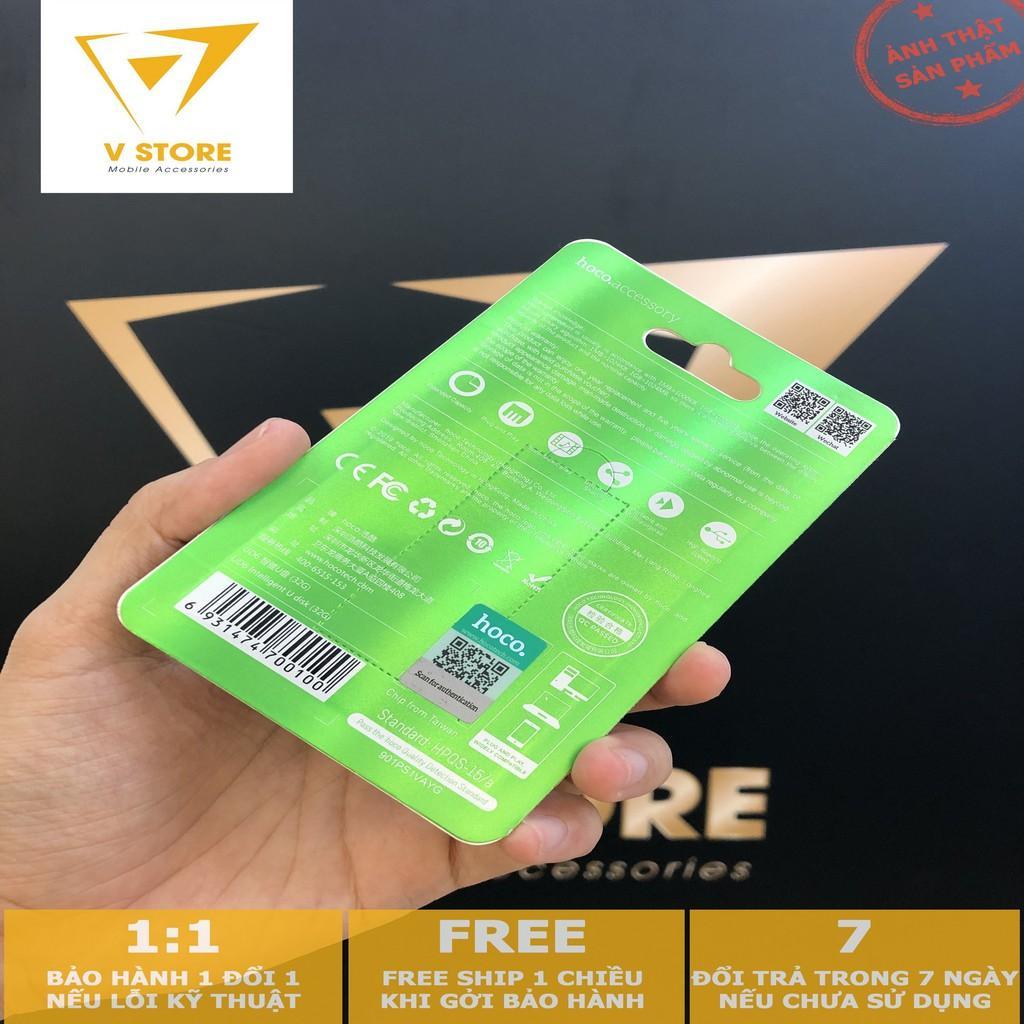 USB2.0 32G HOCO UD6 - 16GB/ 32GB - MÀU ĐEN - HÀNG CHÍNH HÃNG