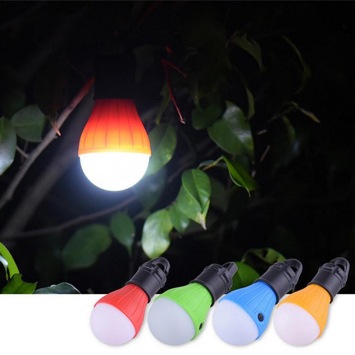 Bóng Đèn Led Xài Pin Cắm Trại, Trong Nhà, Ngoài Sân