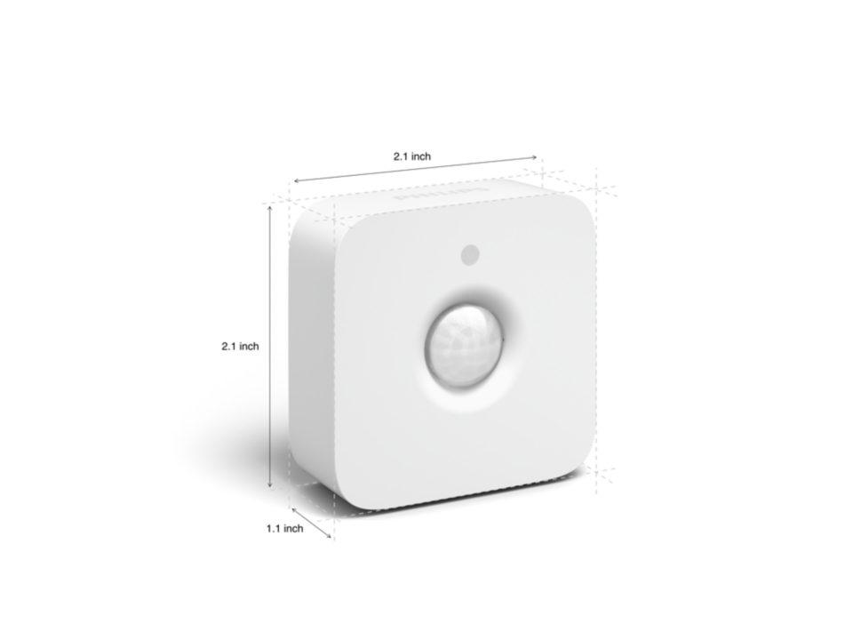 Cảm biến chuyển động Philips Hue Motion Sensor - Không Dây - Hàng Chính Hãng