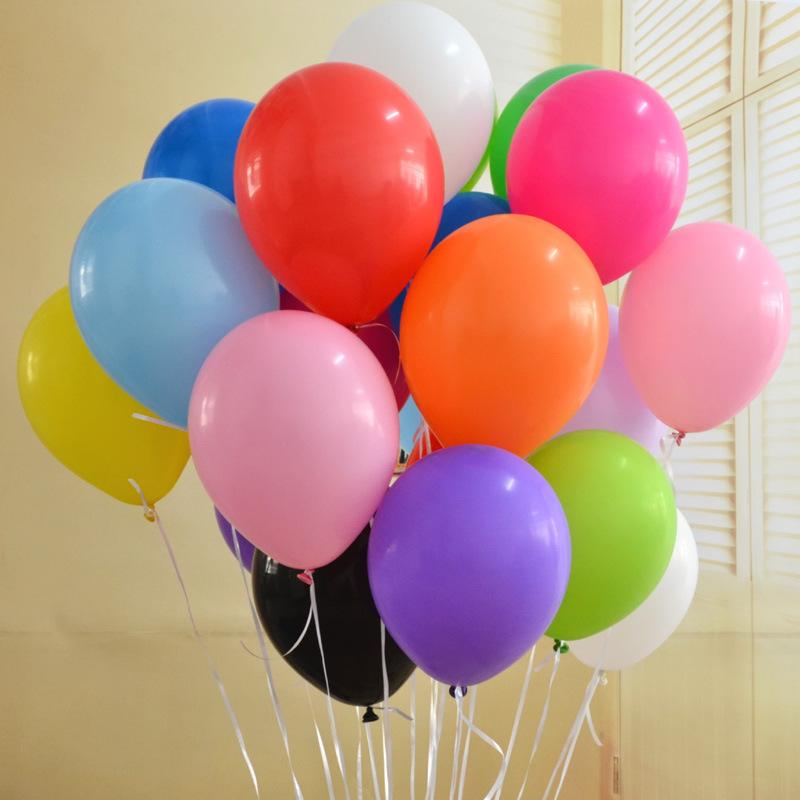 20 bong bóng cao su nhiều màu