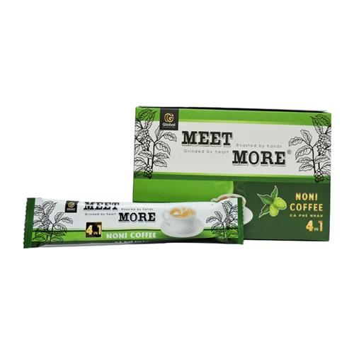 Cà phê hòa tan Noni Coffee 4in1 - Cà phê quả nhàu (18g x 50 gói) – Meet More Coffee