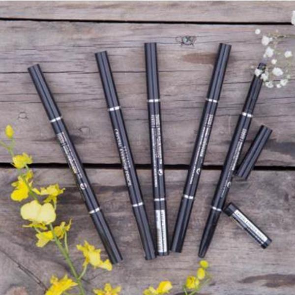 Chì kẻ chân mày Beauskin Crystal Eyebrow Pencil Hàn Quốc #03 Gray [Tặng kèm móc khoá]