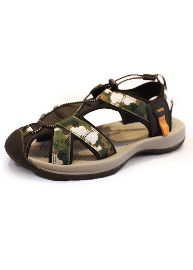 Giày sandal Nam Xuất khẩu dây chéo - Kiểu Rọ - SD7606