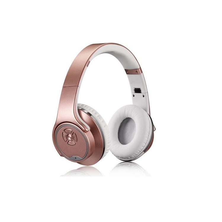 Tai nghe tích hợp 2in1: tai Nghe Bluetooth + Loa Bluetooth âm thanh Stereo, âm bass cao cấp MH1- Mang cả thế thế giới âm nhạc tới bạn - Hàng nhập khẩu