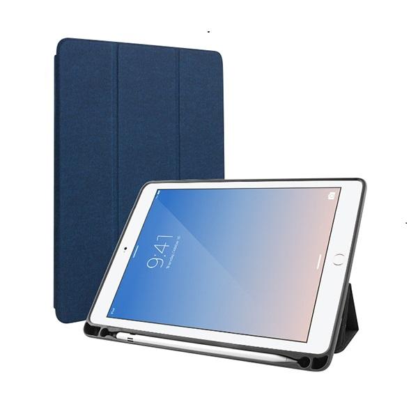 Bao da iPad pro 11 inch 2018 hiệu Mutural  Xanh Hàng nhập khẩu