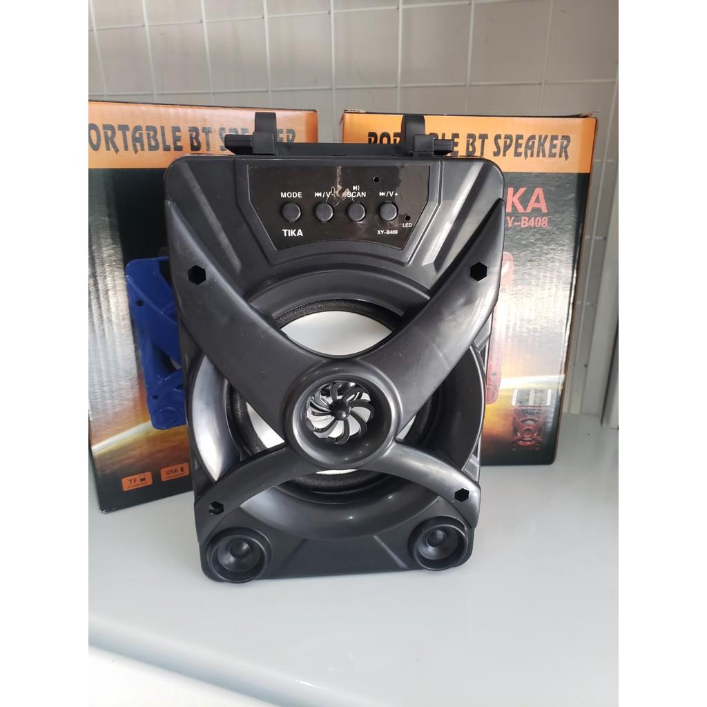 Loa Bluetooth xách tay mini B408 - Màu ngẫu nhiên - Hàng nhập khẩu