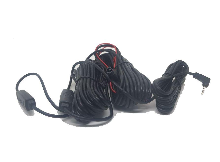 Dây tín hiệu kết nối camera hành trình với camera lùi 15m 5 chân