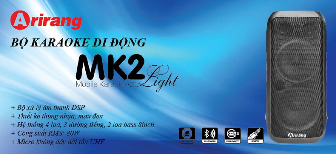 DÀN ÂM THANH DI ĐỘNG ARIRANG MK2 LIGHT - hàng chính hãng