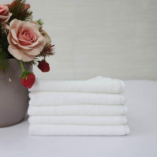 Combo 5 Khăn Làm Nail Cotton Nam Phong 40*60cm - màu Trắng