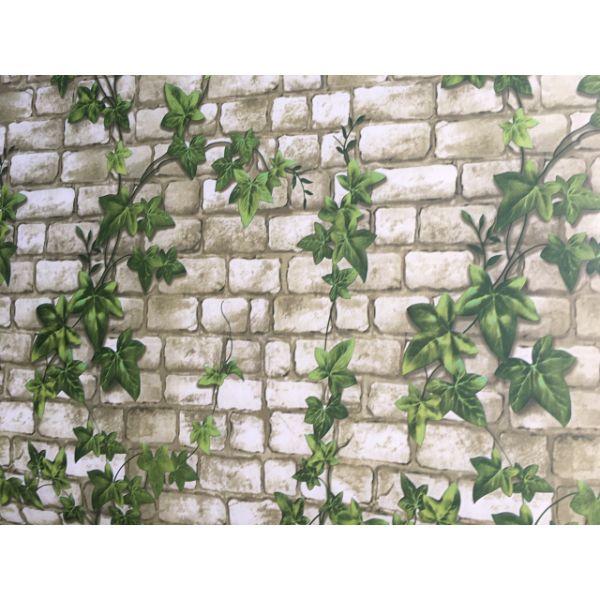 Giấy decal dán tường dây leo xanh có sẵn keo DTL108(60x500cm)