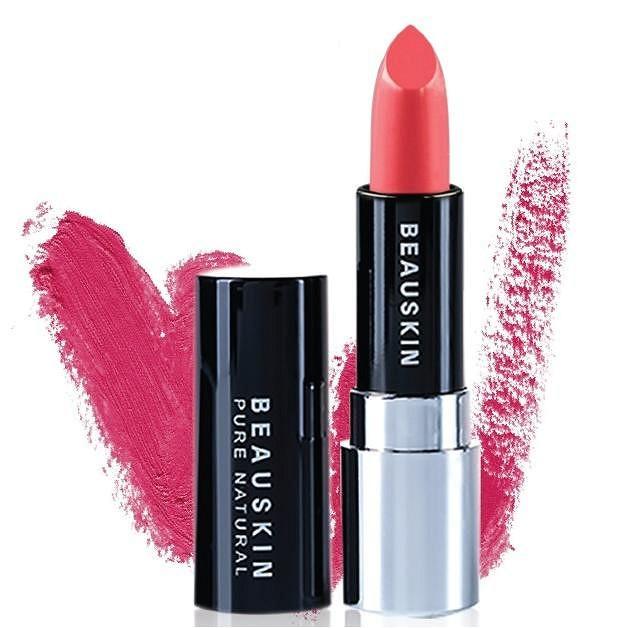 Son lì mềm môi Extra Makeup Matte Lipstick Hàn Quốc 3.5g (B02 - Barbie Pink) + Móc khóa