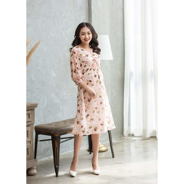 Đầm Bầu HNV1T92235 màu Hồng