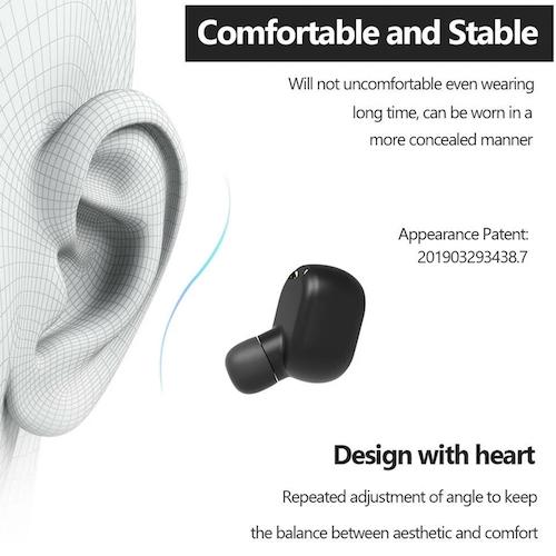 Tai nghe Bluetooth 5.0 Air Bass chống nước Supper Bass