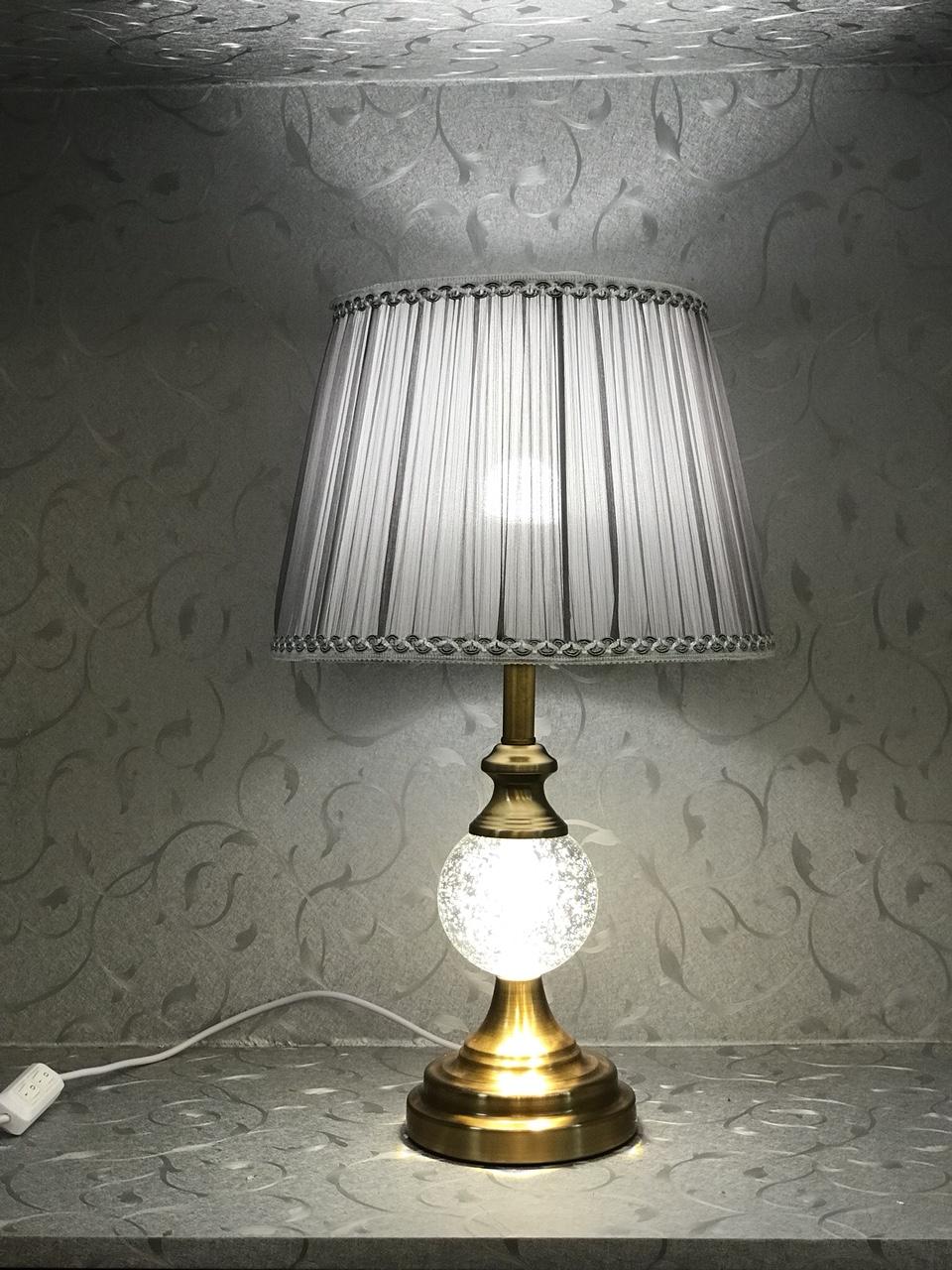 Đèn bàn - đèn ngủ để bàn - đèn bàn trang trí phòng ngủ pha lê hiện đại MB9808