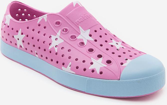 Giày Lười Unisex Native AD JEFFERSON PRINT (111001018550) MALIBU PINK/ SKY BLUE/ BIG STAR