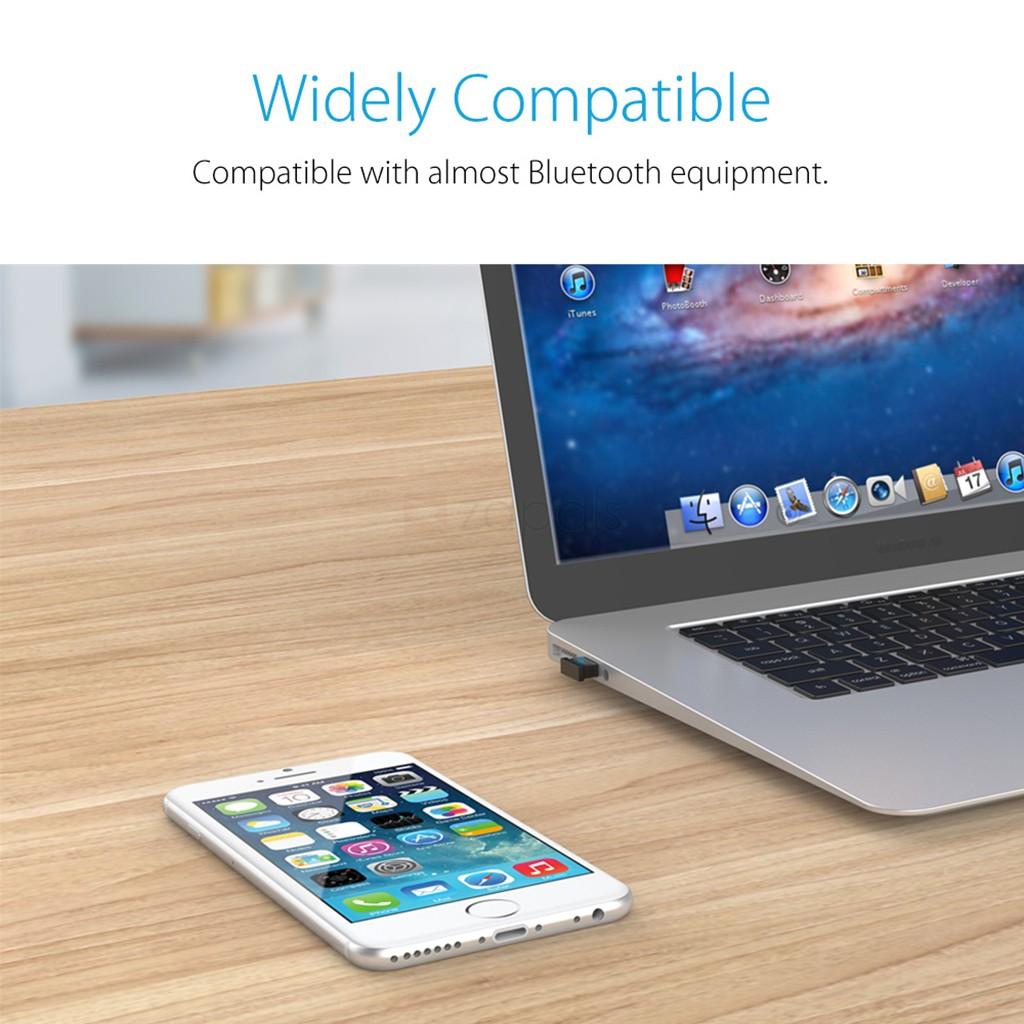 USB thu phát Bluetooth 4.0 Orico BTA-402 (Đen) - Hàng nhập khẩu