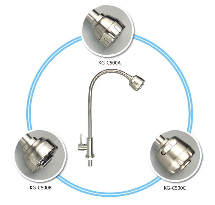 Vòi rửa chén lạnh Inox SUS 304 cần lò xo