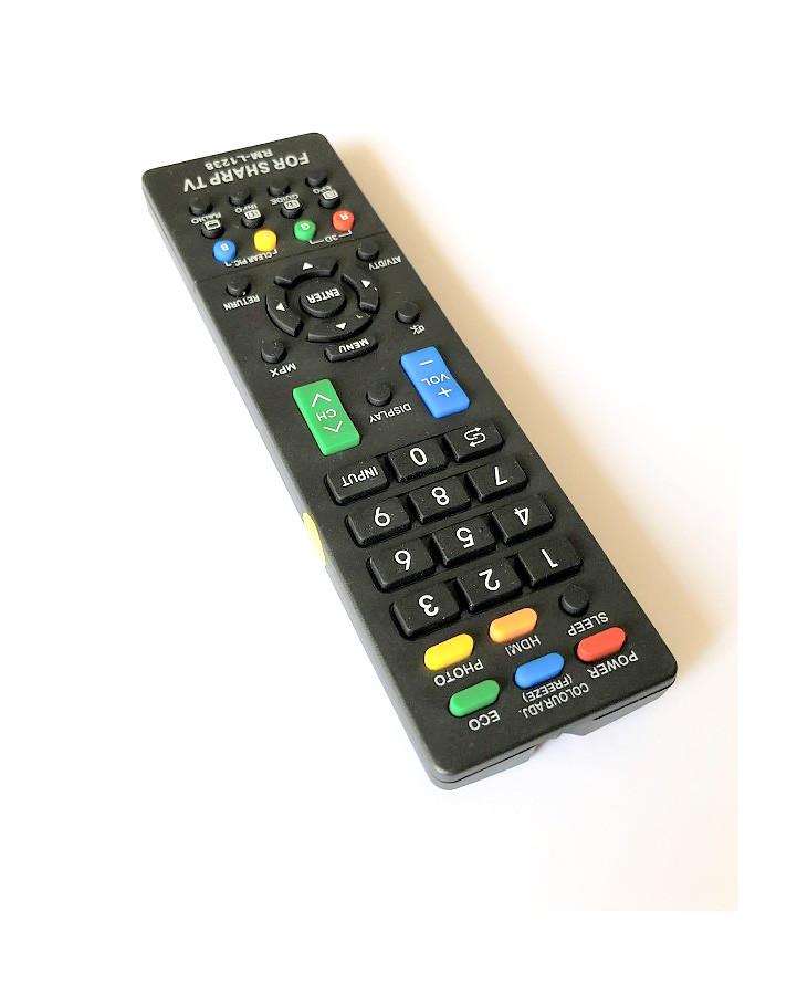 Remote Điều Khiển Tivi LCD, TV LED Dành Cho SHARP RM-L1238