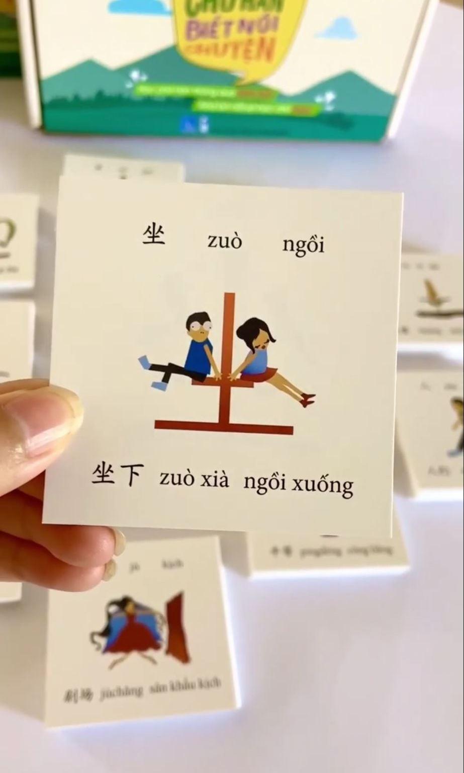 Flashcard tiếng Trung - Bộ 1500 thẻ học từ vựng tiếng Trung thông minh có dịch nghĩa có hình ảnh thông dụng nhất