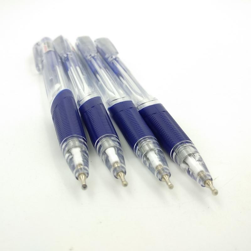Bộ 2 Vỉ 4 Bút Bi Tia Chớp (0.5mm) VBP1055-C - Mực Xanh + Tặng 1 Bút Chì