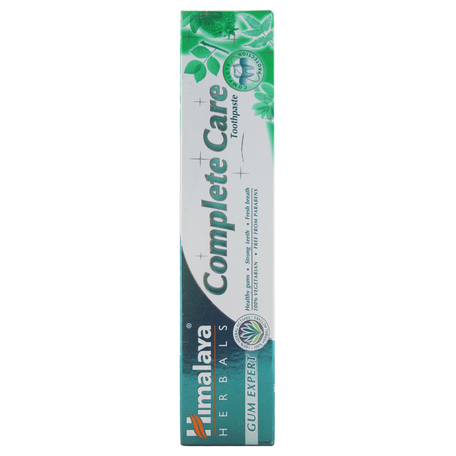 Ba tuýp kem đánh răng bảo vệ nướu, kháng khuẩn - Himalaya Complete Care Toothpaste 100g