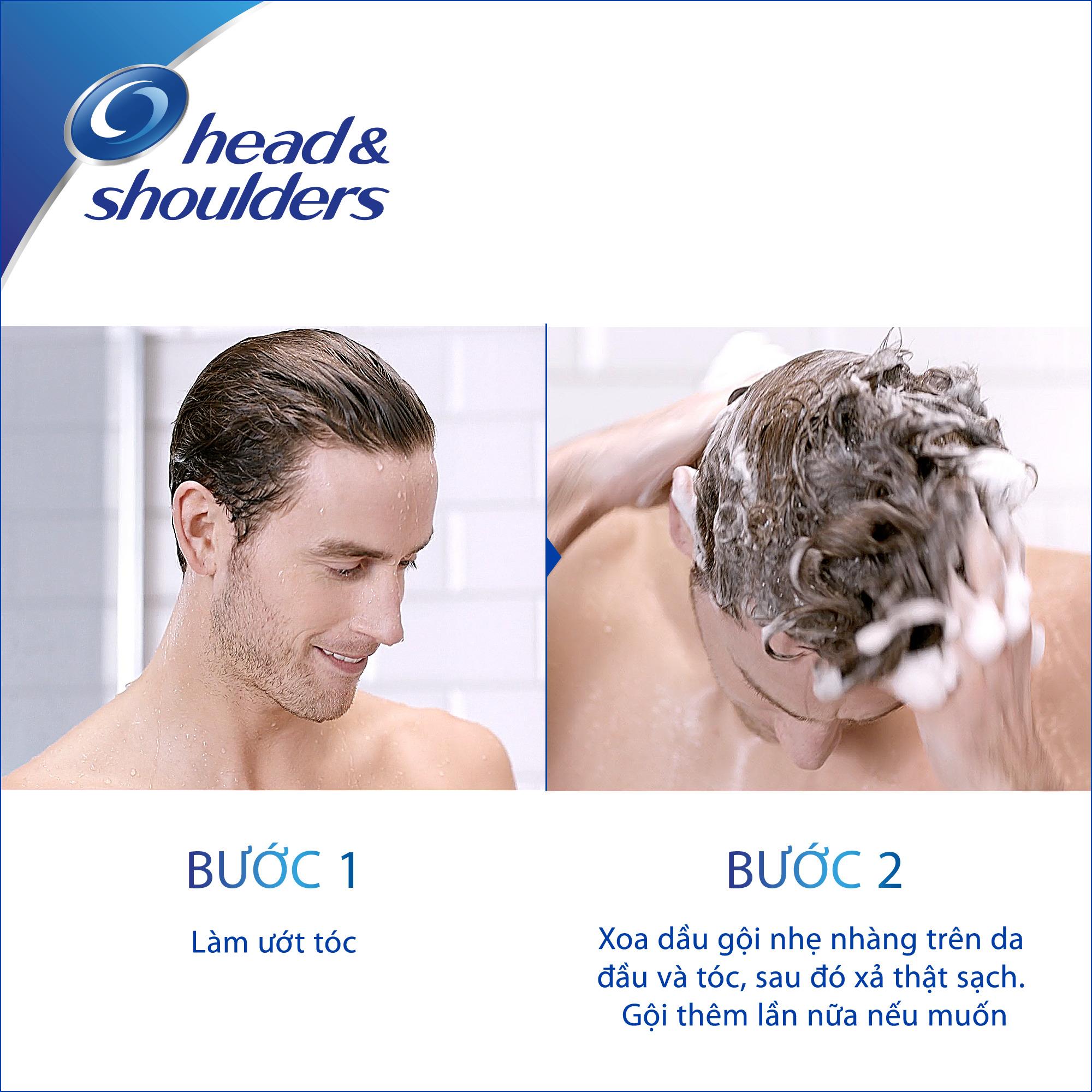 Dầu Gội Head Và Shoulders Bạc Hà Mát Lạnh (850ml)