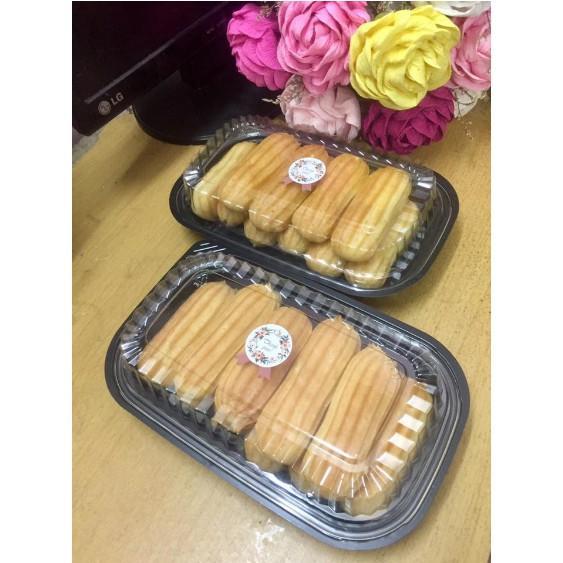 Hôp nhựa HT17 đựng bánh su bánh kem đưng cơm lốc  50 cái bao gồm nắp
