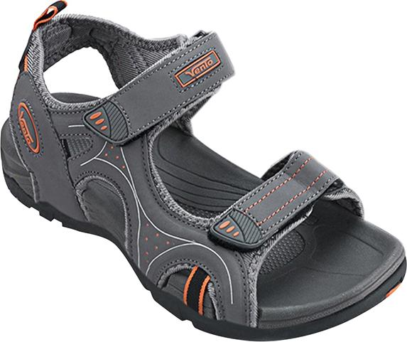 Giày Sandal Nam Quai Ngang Vento NV3610 - Xám Size 43