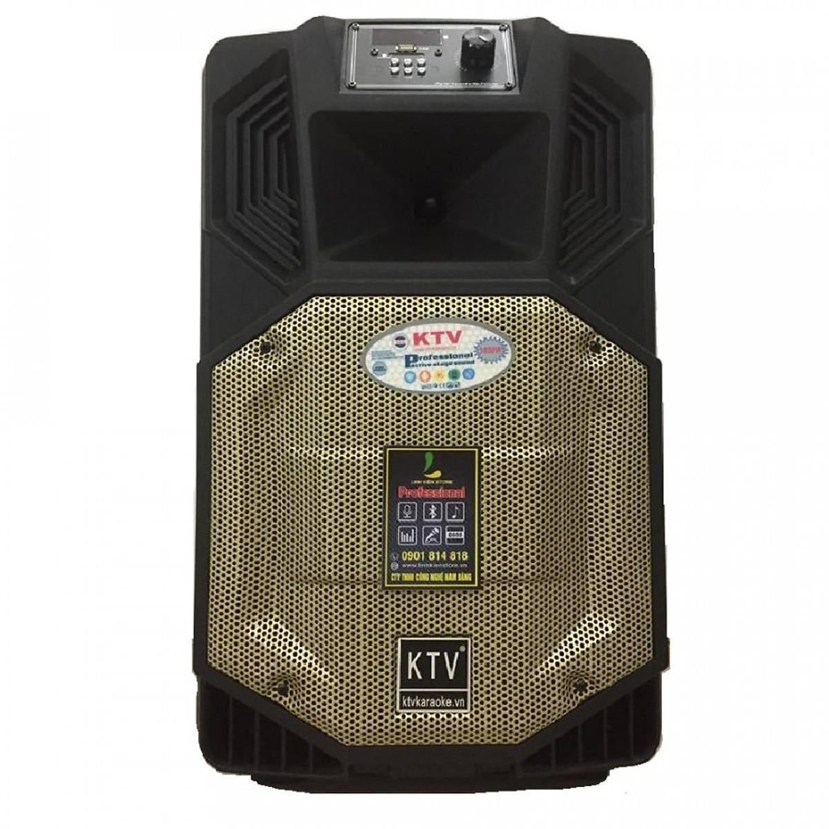 Loa kẹo kéo karaoke bluetooth di động di động KTV SS1-12 - Hàng chính hãng
