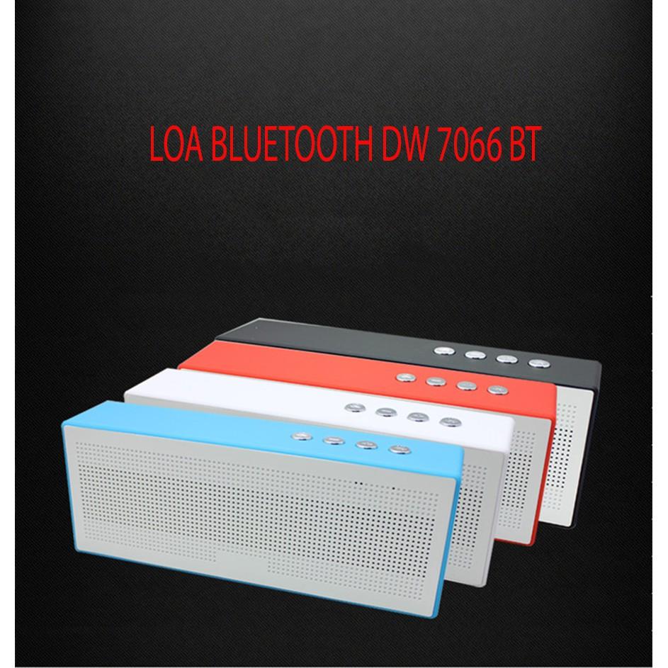 Loa Bluetooth DW 7066 BT Nhỏ gọn, âm thanh sắc nét, rõ ràng (Giao màu ngẫu nhiên)