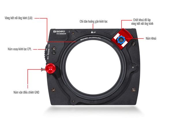 Filter Kính lọc vuông Benro Hệ 100, Hàng chính hãng 3