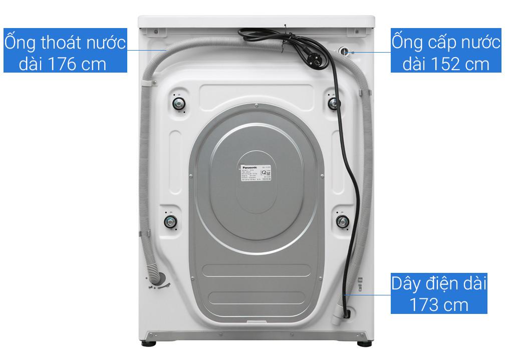 Máy giặt cửa trước Panasonic Inverter 10Kg NA-V10FG1WVT - Hàng chính hãng (chỉ giao HCM)