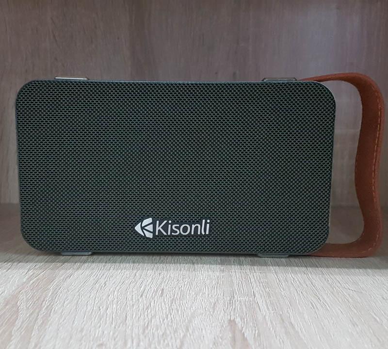 Loa bluetooth Kisonli S7 có quai xách hỗ trợ thẻ nhớ/USB/FM/AUX/Thoại rãnh tay (màu ngẫu nhiên) Hàng Chính Hãng
