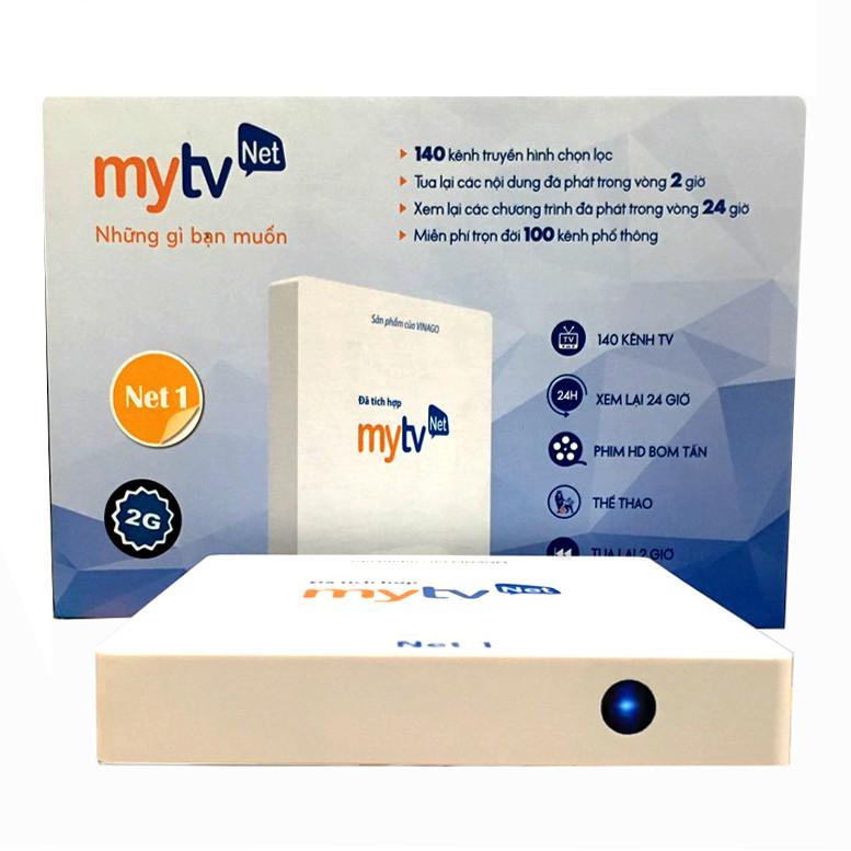 Hộp Android tivi box MyTVNet Net 1- Phiên bản Ram 2G, Rom 16 G tặng kèm chuột Vinagear- Hàng chính hãng .