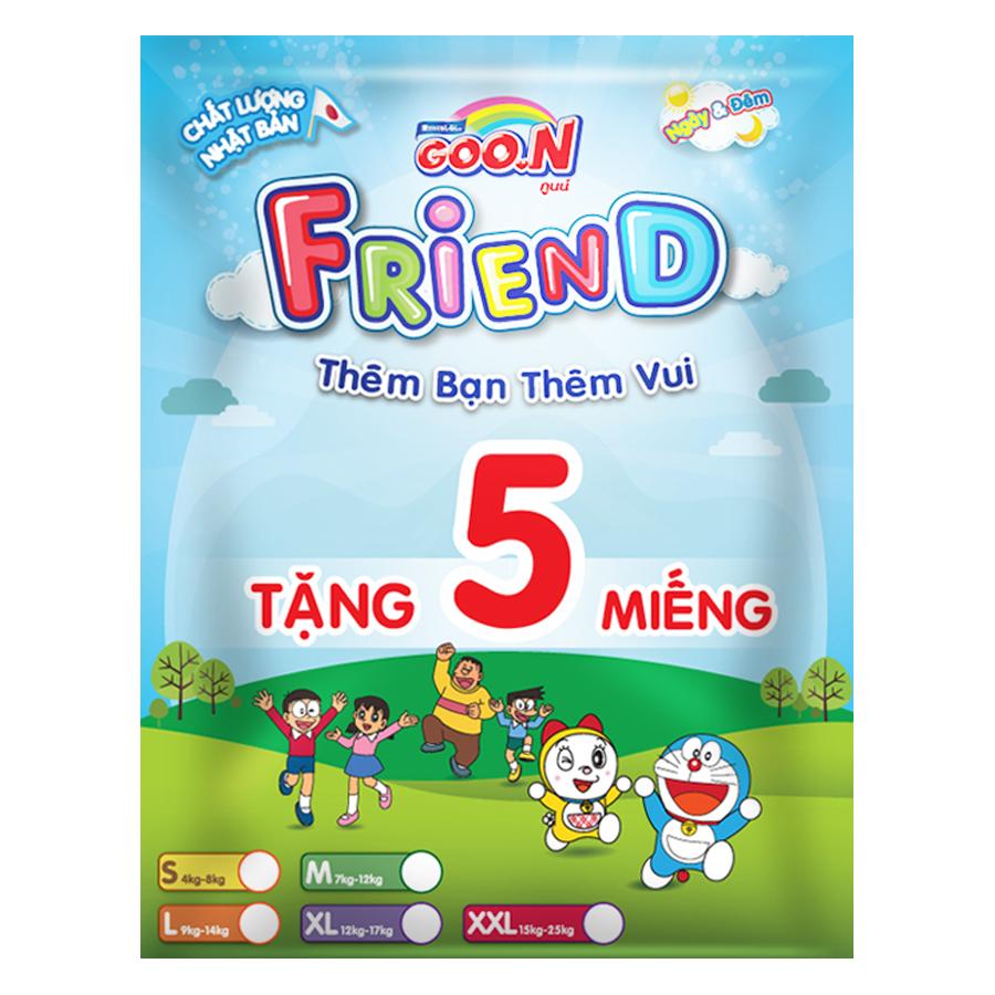 Tã Quần Goo.n Friend Gói Cực Đại XXL34 (34 Miếng) - Tặng Thêm 5 Miếng