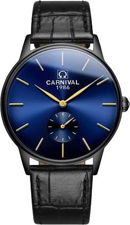 Đồng hồ Carnival Sapphire Nam G70802.204.232 - 38mm - Quartz (Pin) - Dây da