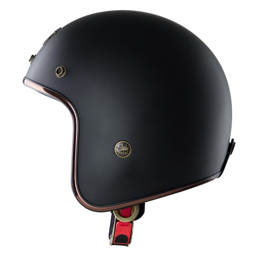 Mũ Bảo Hiểm 3/4 Đầu Royal M20C Ruby Trơn