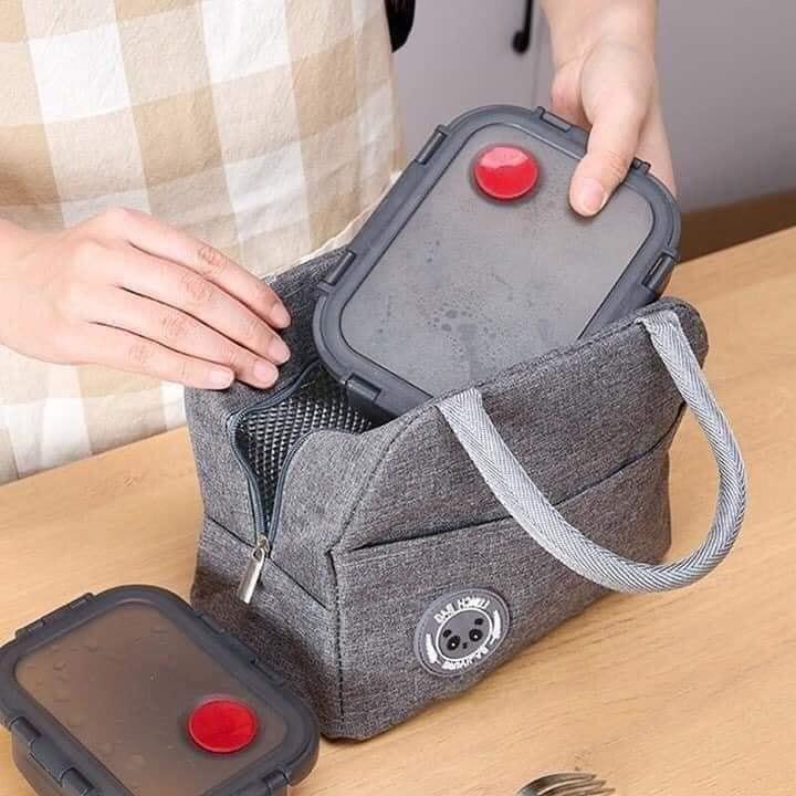 TÚI GIỮ NHIỆT MUST HAVE Túi cơm vải chống nước - Túi đựng hộp cơm Nhà sản  xuất OEM   DienMayHC.com