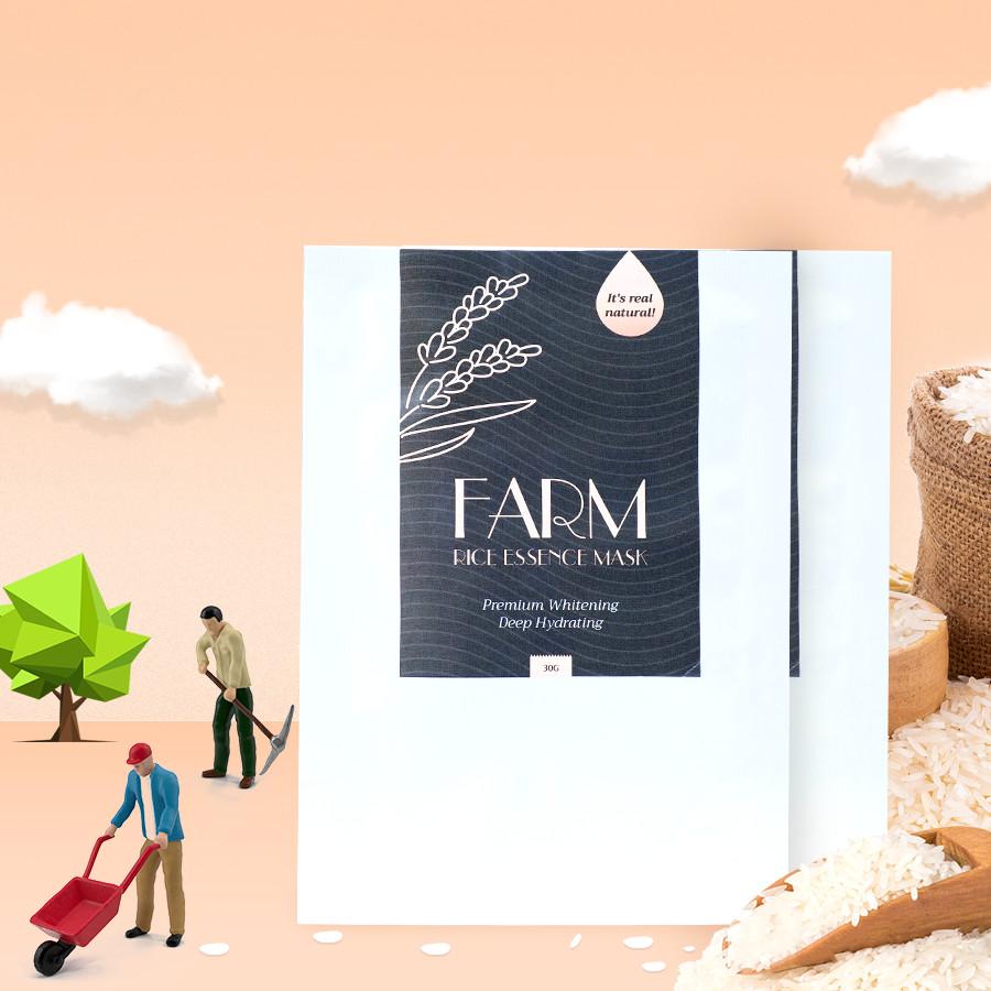 Mặt Nạ Nước Vo Gạo Farm