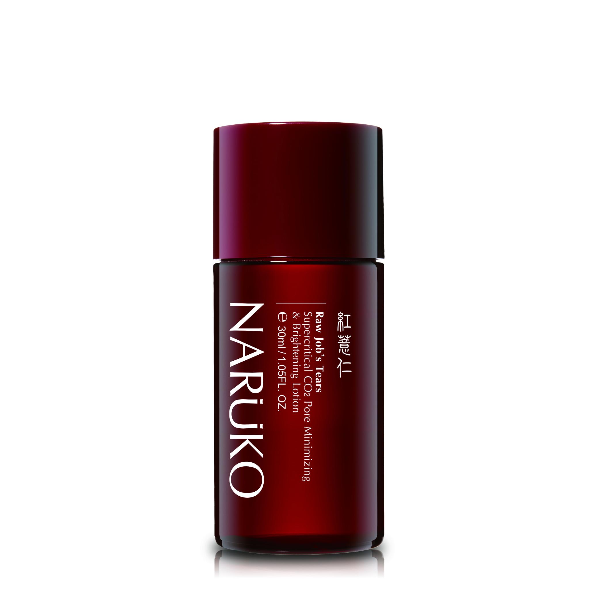 Naruko – Ý dĩ nhân đỏ – Toner nước hoa hồng làm trắng se khít lỗ chân lông minisize 30ml – RJT Supercritical CO2 Pore Minimizing and Brightening Lotion 30ml
