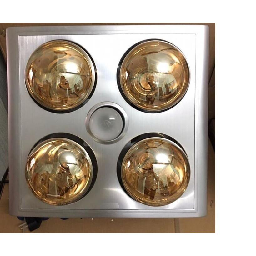 Đèn sưởi nhà tắm 4 bóng âm trần SPP01