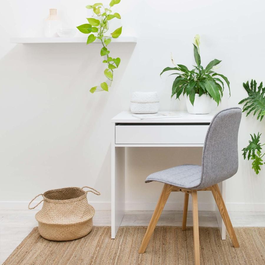 Bộ 2 Kệ gỗ treo tường SML80 - Kệ treo tường bằng gỗ trang trí tiết kiệm không gian cho Căn hộ