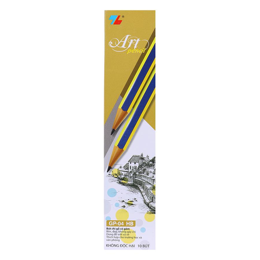 Hộp 10 Bút Chì Gỗ Thiên Long GP-04
