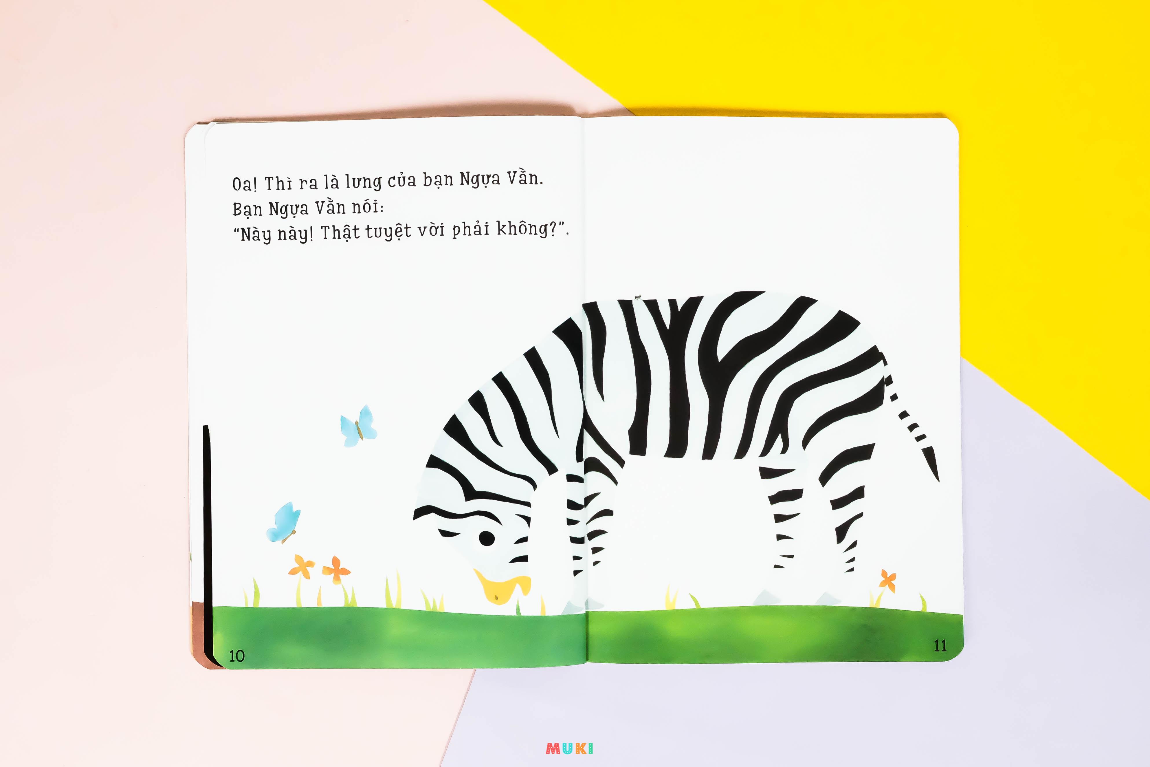 """Combo 10 cuốn Ehon Nhật bản Phát triển kĩ năng sống cho trẻ: Bộ sách những mẩu chuyện nhỏ Ehon -Accototo & Bộ sách kiến thức """"Ai ở sau lưng bạn thế"""""""