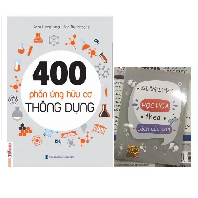 400 Phản Ứng Hữu Cơ Thông Dụng Tặng Kèm Sổ Tay Phản Ứng