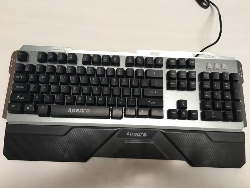 Bàn phím chuyên Game Apedra GK – 49 - Hàng Chính Hãng