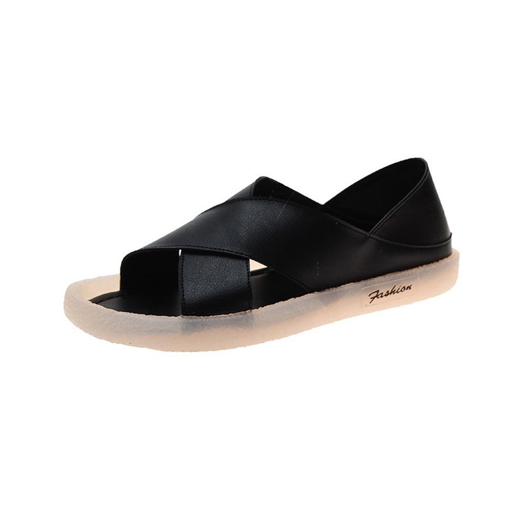 Sandal Nữ Học Sinh Đế 3cm Mềm Dẻo Êm Chân Siêu Xinh ST64- Mery Shoes