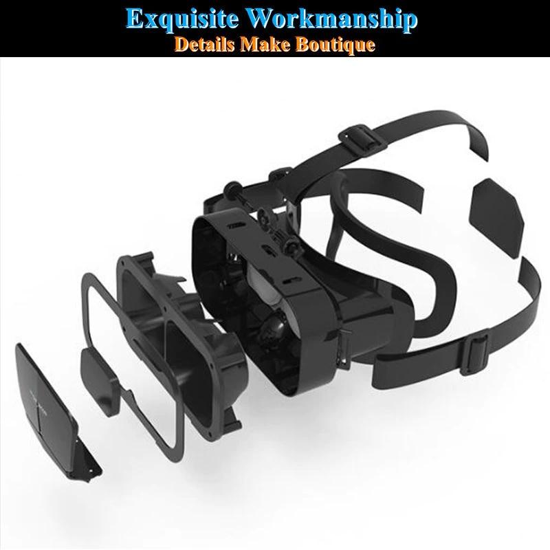 Kính Thực Tế Ảo VR SHINECON G10 Cho Điện Thoại 4.7-7.0 inch - Hàng Chính Hãng