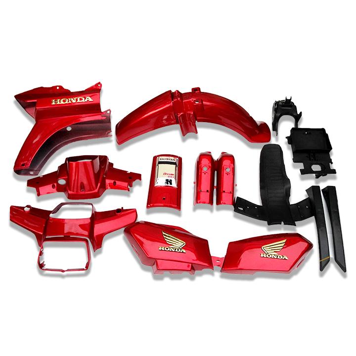 Bộ vỏ nhựa dàn áo xe Dream II nhựa ABS nguyên sinh nhãn hiệu GTP